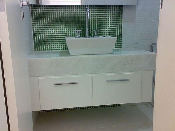 gabinete de banheiro 100%mdf  klmoveis -> Gabinete De Banheiro Em Mdf