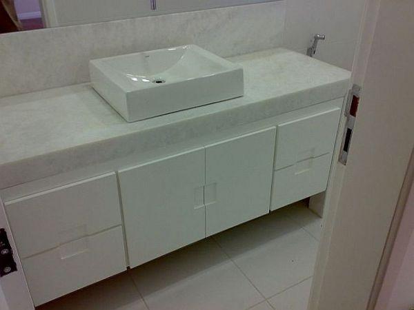 gabinete de banheiro 100%mdf  klmoveis -> Gabinete De Banheiro Bonatto